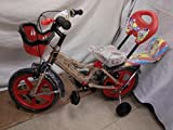 #10: Shaan Kids 14T Bicycle RED for Boys and Girls 2-5 years age