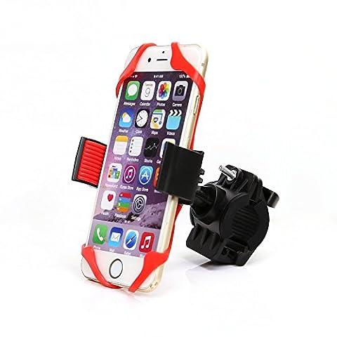 Sangles de vélo pour téléphone portable avec support/sports de plein air Bike Ride équipement/de montagne de voiture étagère/GPS Navigator support