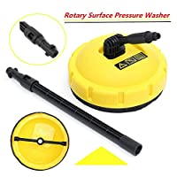 Sedensy Professional Long Handle Cleaner Pressure Washer Rotary Brush Surface Clean Flexible For Karcher K