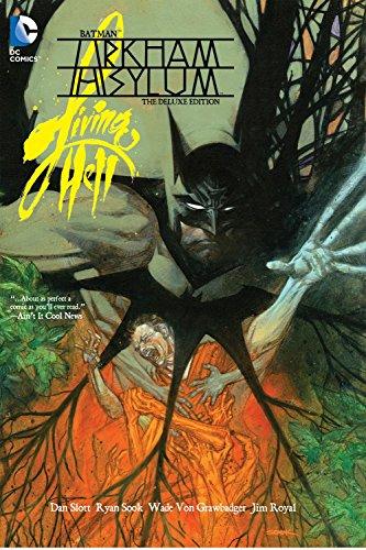 Batman: Arkham Asylum Living Hell Deluxe Edition HC