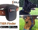PAJ GPS der Neue Tier Finder Tracker für Hunde, Pferde und Mehr, Inklusive Tasche für Halsband und Halfter