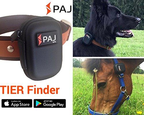 Der neue TIER FINDER von PAJ: GPS-Tracker für Hunde, Pferde und mehr, inklusive Tasche für Halsband und Halfter