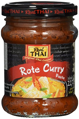 Real THAI Rote Curry Paste, 3er Pack (3 x 227 g) (Paste Curry Thai Red)