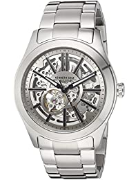 Kenneth Cole Men's 10030815 Silver Stainless-Steel Automatic Dress Watch