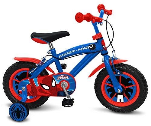 Stamp- Spiderman Bicicleta