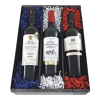 Vive la France! Probierpaket 3 preisgekrönte Rotweine
