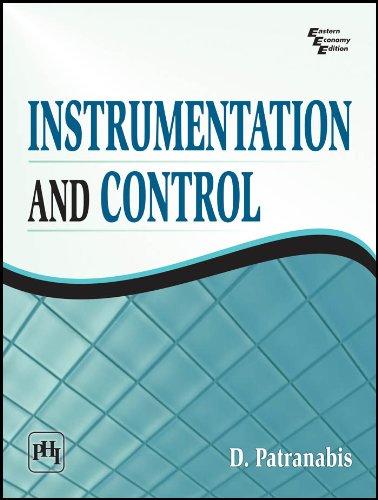 INSTRUMENTATION AND CONTROL por D. Patranabis