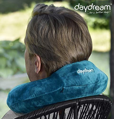 daydream Reise-Nackenkissen mit Kopfstütze aus Memory Foam, verschiedene Farben (N-5364), Nackenhörnchen, Reisekissen, Nackenstützkissen