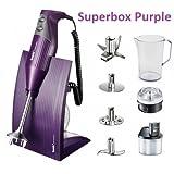Bamix Superbox Purple–Geschenkbox mit Zubehör