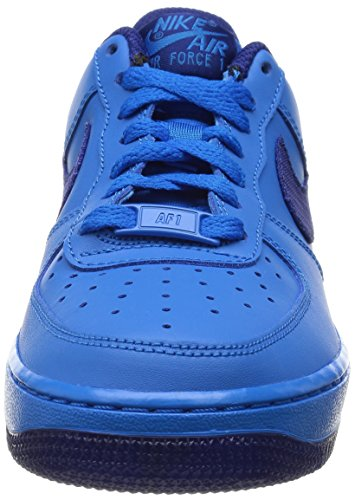 Nike Jungen Air Force 1 Lv8 (Gs) Basketballschuhe PHOTO BLUE/DEEP ROYAL BLUE