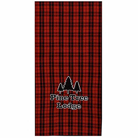 Home Collection by Raghu ETRE0164 Pine Tree Lodge Towel, 18