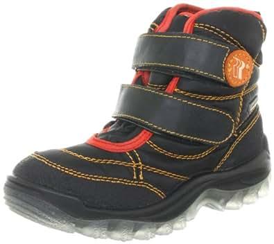 Romika Polar K195 59095, Unisex-Kinder Stiefel, Schwarz (schwarz 100), EU 24