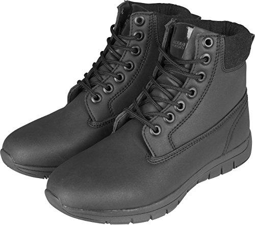 Urban Classics Herren Runner Boots Chukka, Schwarz (Black/Black/Black 01168), 42 EU (Chukka Classic)