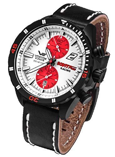 Reloj Vostok Europe Scott Free Racing Team de Hombre cronógrafo Cuarzo 6S11-320C374