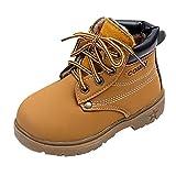 Unisexe Enfants Chaussures Martin Bottes - Highdas Ragazza ragazzo Bottes Chaudes PU Chaussures en cuir antidérapante Biker Bottes 21-30