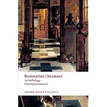 Restoration Literature (Oxford World's Classics)
