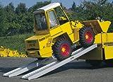 Alu Verladeschiene / Auffahrrampe / Auffahrschiene 2330x245mm mit 1400 kg Tragkraft (pro Paar)