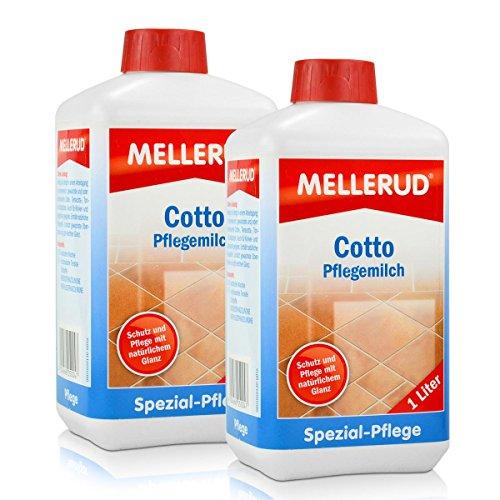 2x Mellerud Cotto Pflegemilch 1L - Schutz und Glanz