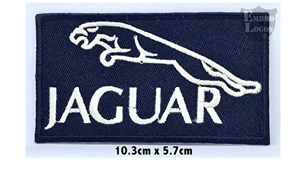 Jaguar Car Sports Brand Patch Embroidered Iron Or Sew On Badge ...
