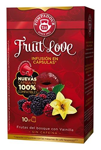 Pompadour - Té Fruit Love En Cápsulas - Pack de 10 Unidades - [pack de 2]