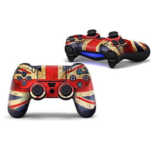 Morbuy PS4 Controller Skin Diseñador Piel Pegatina para Sony PlayStation 4 PS4 Slim PS4 Pro DualShock mando inalámbrico x 1 (UK)
