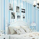 Surnoy Vliestapete, Kinderzimmer Tapete, Rosa, Blau Gestreiften Schlafzimmer, Wohnzimmer Tapete