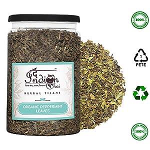 The-Indian-Chai-Organic-Peppermint-Herbal-Tea-Leaves-100g