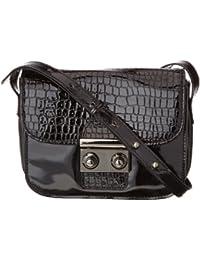 Friis & Company Santa Cruz Larouge Mini Shoulder Bag 1340624-001, Damen Henkeltaschen 13x18x5 cm (B x H x T)
