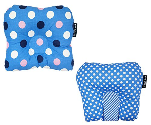 Wobbly Walk Baby Pillow - set of 2 (Blue)