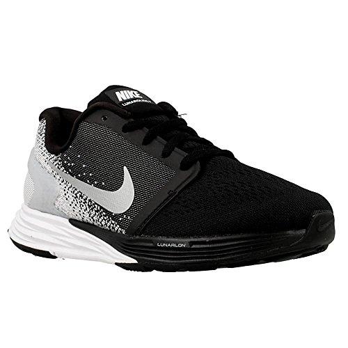 Nike - Lunar Glide 7 Junior Chaussure de running (noir/blanc) - EU 36 - US 4 Noir