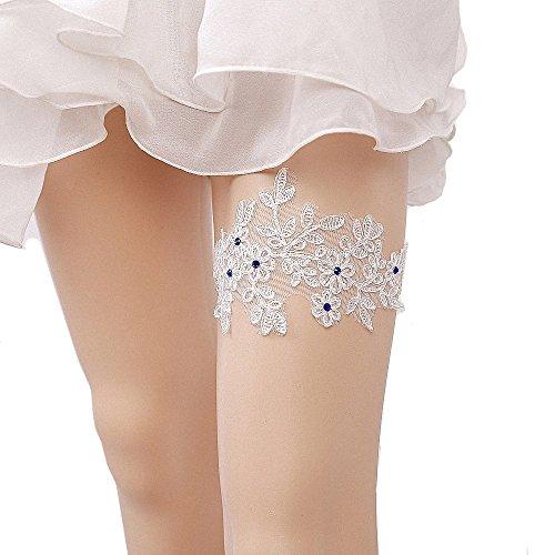Hochzeit Strumpfbänder für Braut Stretch Prom Strumpfband ()