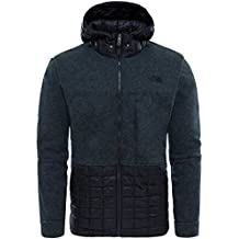 The North Face Trunorth Thermoball Hoodie Tnfblackwhitehther/Tnfblk XL