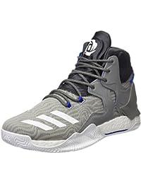 adidas D Rose 7 - Zapatillas de baloncesto para Hombre, Gris - (GRPUCH/FTWBLA/GRPUDG) 41 1/3