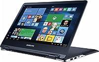 2017 Newest Edition Samsung Notebook 9 Spin 13.3 QHD+(3200x1800) Premium High Performance TouchScreen LED Laptop, Intel Quad-Core i7-6500U, 8GB RAM, 256GB SSD, Win10, Black