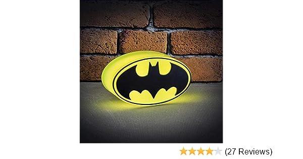 Lampada Lego Batman : Dc comics beleuchtetes mini batman logo mehrfarbig: amazon.de