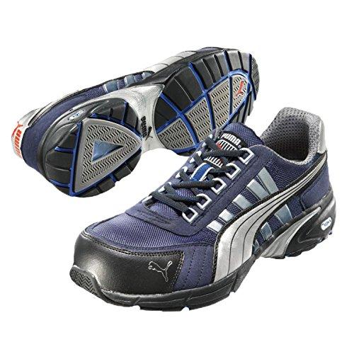 Puma Safety Shoes 47-642530-43, Chaussures de sécurité Adulte Mixte Bleu/noir/blanc
