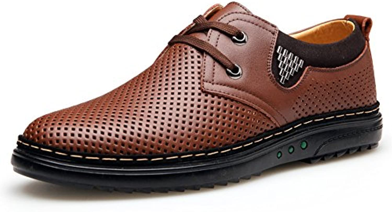 Sommerschuhe/Herren atmungsaktiv Freizeitschuhe/Niedrige UK Schuhe