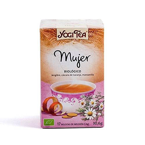 Yogi Tea Infusión de Hierbas Women's Tea - 17 bolsitas