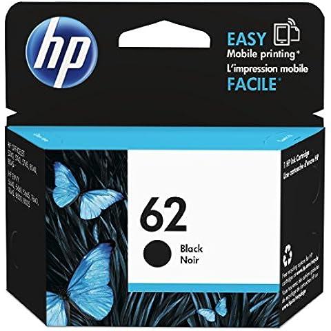 HP 62  - Cartucho de tinta original, negro