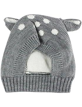 Mütze Baby Hüte Wintermütze Hut Wintermütze Warme Schlupfmütze Mütze Beanie Ballonmütze Schlupfmütze Junge Mützen...