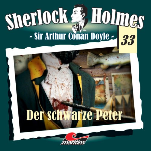 Buchseite und Rezensionen zu 'Der schwarze Peter (Sherlock Holmes 33)' von Sir Arthur Conan Doyle