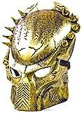 Nick and Ben Predator-Maske Ahab-Maske Vanguard-Maske Gold mit Yautja (Raub-Tier) Hunter Jäger Symbolen Sonderausgabe Bio-Mask Anführer