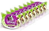 Whiskas Knuspertaschen Katzensnacks Pute, 8 Packungen (8 x 60 g)