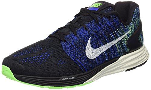 Nike - Lunar Glide 7 Herren Laufschuh, current blue/electric green, M, KN642481M