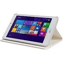 """Acer NP.BAG1A.132 8"""" Libro Color blanco funda para tablet - fundas para tablets (20,3 cm (8""""), Libro, Color blanco, Cuero, Poliéster, Acer, Iconia W1-810)"""