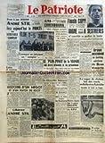 Telecharger Livres PATRIOTE LE No 2406 du 07 07 1952 EMBASTILLE DEPUIS 44 JOURS DEVANT LE JUGE JACQUINOT ANDRE STIL FERA AUJOURD HUI LE PROCES DU VERITABLE COMPLOT LES COMITES DE DEFENSE DES LIBERTES LUTTES ET VICTOIRES OUVRIERES UN ROANNAIS RETOUR D URSS HISTOIRE D UN MEGOT ET D UN MATCH DE FOOT LIBEREZ ANDRE STIL PAR AUGUSTE LECOEUR COMMENT ON FABRIQUE UN COMPLOT UN JUGE D INSTRUCTION QUI INVITE LES MILITANTS COMMUNISTES A RENIER LEUR PARTI APRES 40 JOURS DE GREVE AU FOND 200 MINEURS ITALIENS RE (PDF,EPUB,MOBI) gratuits en Francaise