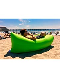 The Virgo Inflatable Portable Outdoor Cloud Lounger For Hangout, Beaches, Camping, Events Air Lounger. Carry Bag...