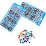 SODIAL (R) 12 sacchetti Colori assortiti palla gelatina crescente magica
