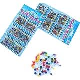 SODIAL (R) 12 Bolsas colores surtidos de creciente magico jalea bola