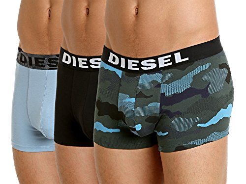 Diesel 0wapq, Boxer Uomo Multicolore (Multicolor)